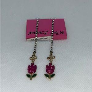 NWT. Betsey Johnson earrings